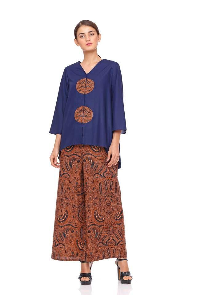 Stelan batik kulot