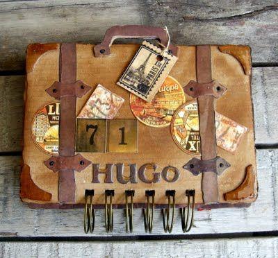 Great idea for a travel album!