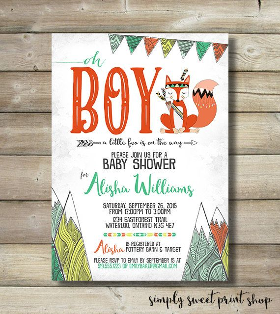 Nature Themed Baby Shower: Best 25+ Fox Baby Showers Ideas On Pinterest