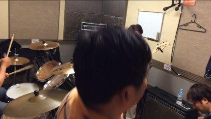 [高校時代のバンドが再結成!] 2回目のスタジオ練習