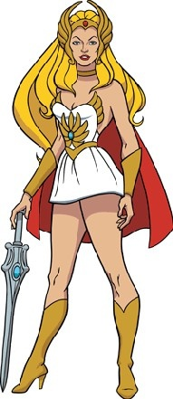 She ra! What happened to her, our girls have no Super Women, except us moms of course ;-)