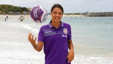 It's time to up the ante says Chris Egan. Sam Kerr is key to pushing the game to renewed heights in #Perth.