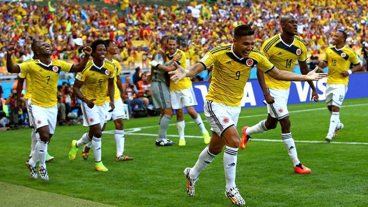Teofilo Gutierrez (Col) - 2nd Goal - Colombia vs Greece 3-0 - Group C - 14 June 2014