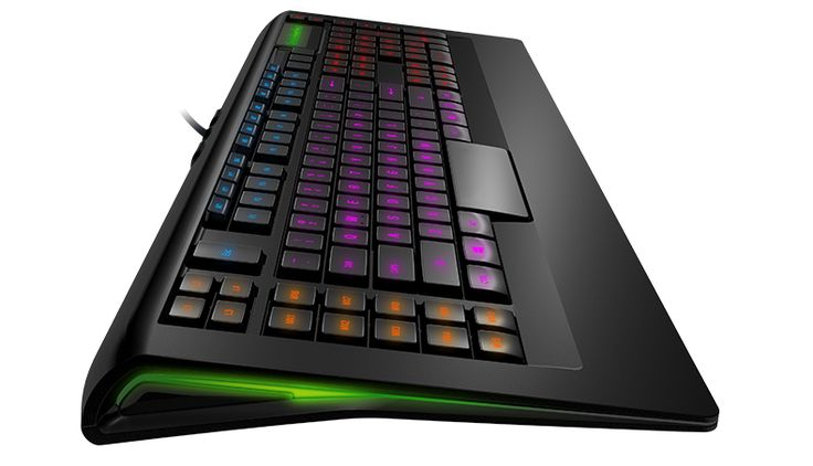 SteelSeries illuminated keyboards light up #CES 2013 with 16.8 million color options