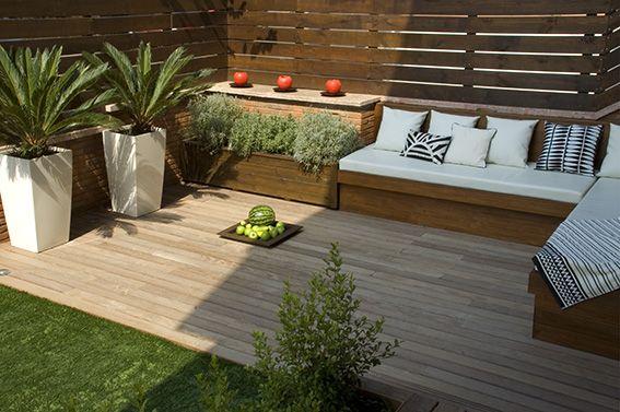 Crear una zona chill out terrazas con estilo y estilo - Patios con estilo ...