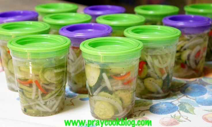 Crispy Cucumber Freezer Pickles