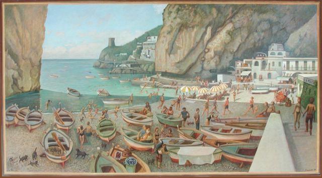 Love this painting by Paolo SandulliTela Cm, Su Tela, Sandulli Pittor, Paolo Sandulli