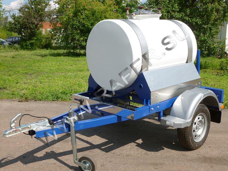 Прицеп-цистерна 500 литров.