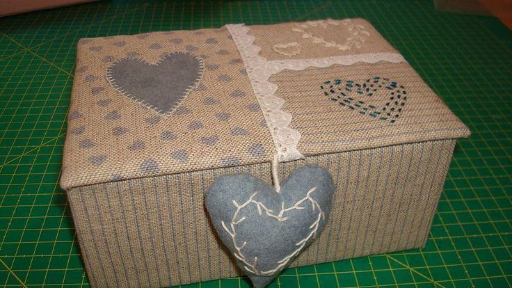 Forrar cajas forro de cajas con tela pinterest - Telas para forrar cabecero cama ...