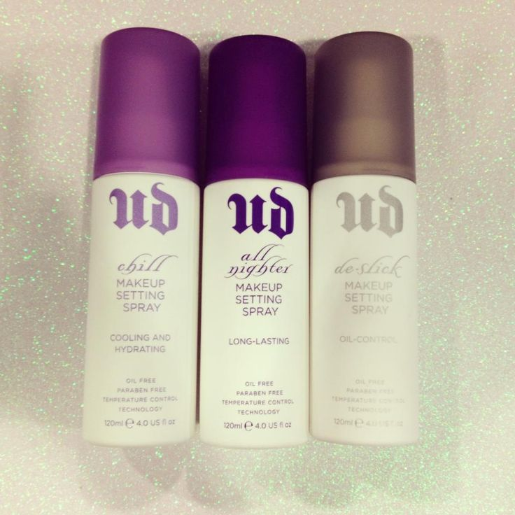 """""""I put on makeup. I sprayed this. I went swimming for like an hour and it was STILL THERE. Buy it already. Urban Decay Setting spray."""" << may have to try this?!!"""