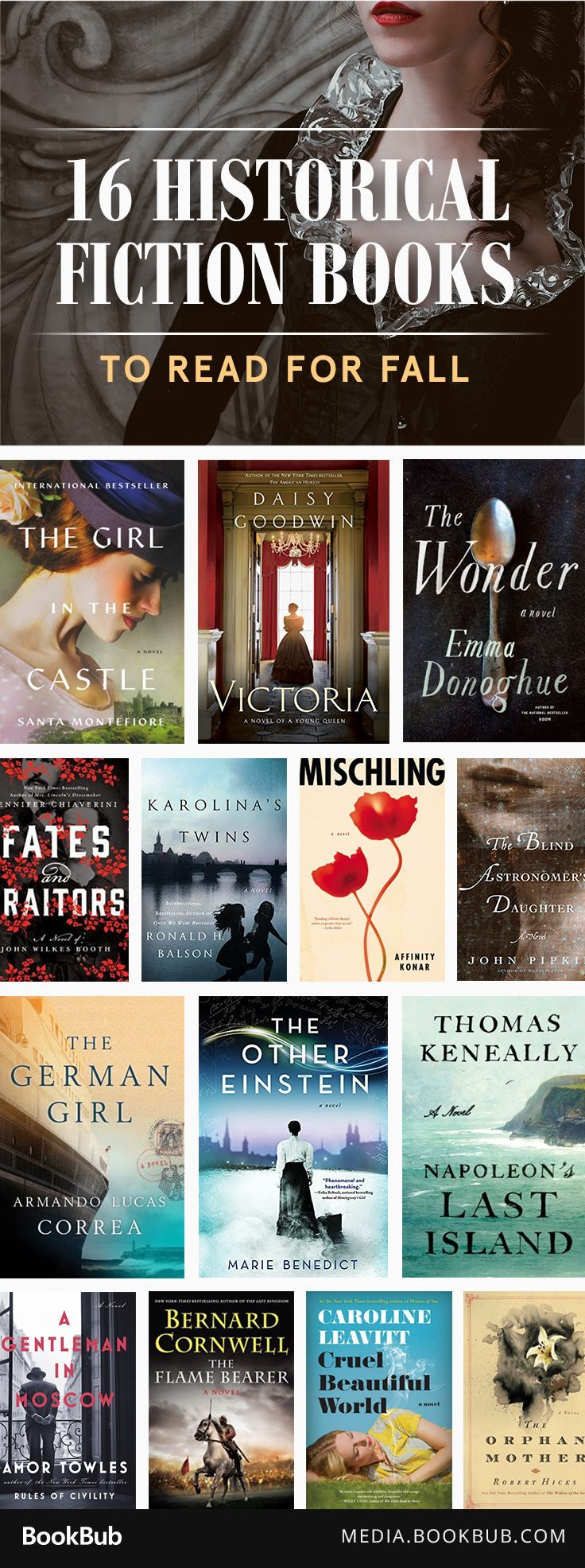16 great history books to read for fall.