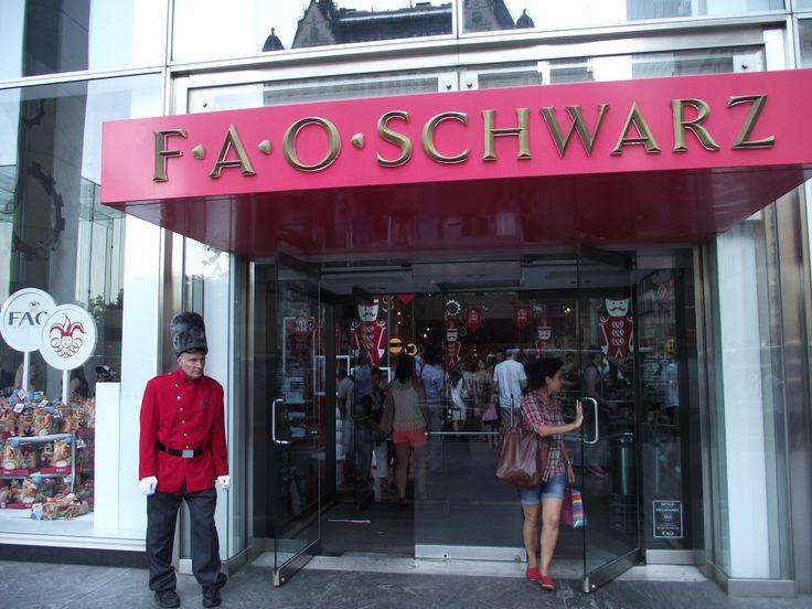 FAO Schwartz Toy Store NYC
