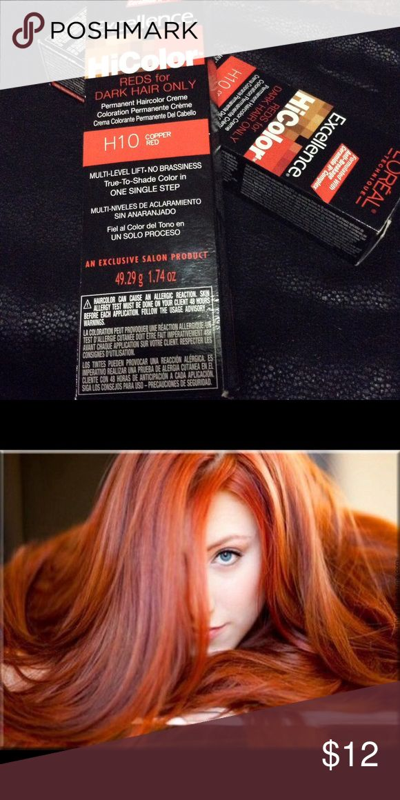 Copper Red Hair Dye‼️FINALPRICE ‼️ New and sealed, two boxes L'Oreal Other
