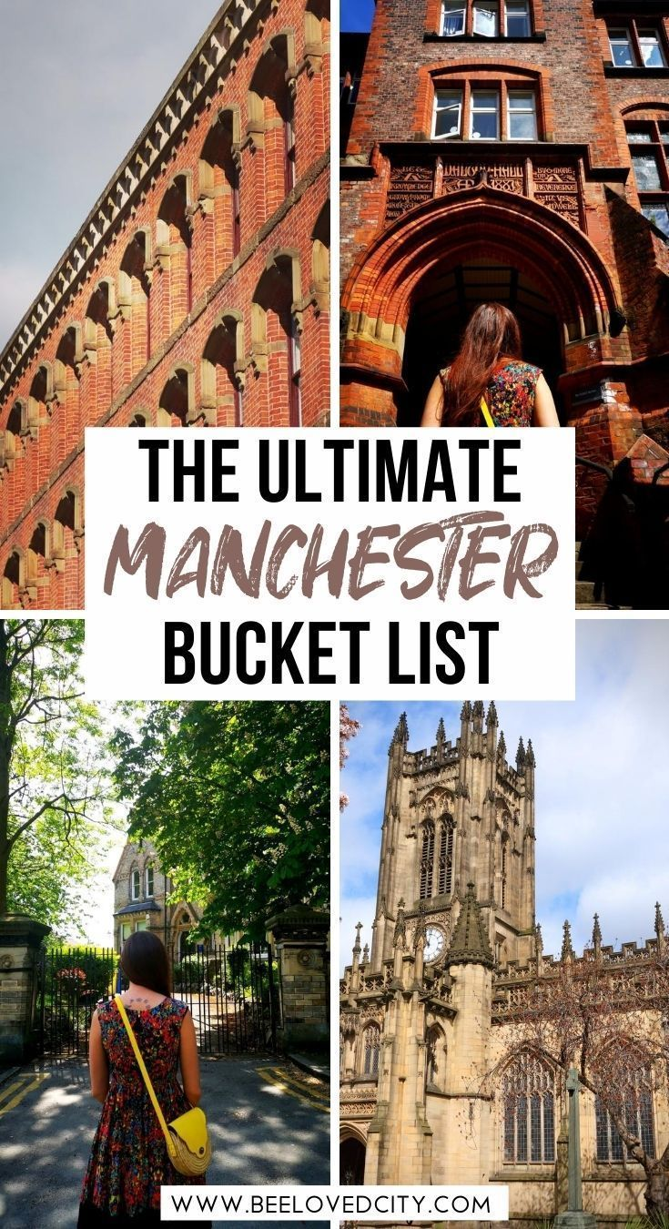 Things To Do In Manchester England Travel Guide Beeloved City In 2020 Manchester Travel England Travel Guide Travel