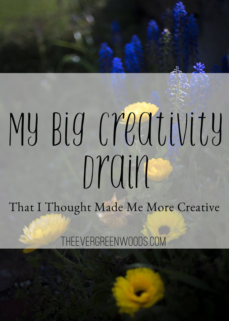 Recently I have felt like my creative spirit has disappeared out of my life. That's been really distressing for me because I've always loved feeling like a creative person. I've finally clicked as to what was draining my creativity and it surprised me! Check out the blog post to find out.