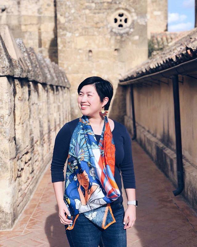 Travel Style With Diwata 100 Silk Scarf Fashion Style Silk Scarf