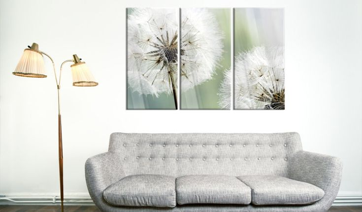 ▶ Tablouri -  Fluffy Dandelions ◀  #glass #prints #decor #home #pictureframes #spring #nature   👉👉👉https://loom.ly/5DdzXEk