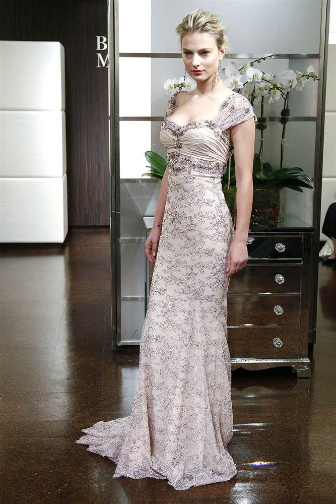 Badgley Mischka dress...love this romantic look!    Bold bridal: Unique wedding gown trends - Slideshows and Picture Stories - TODAY.com