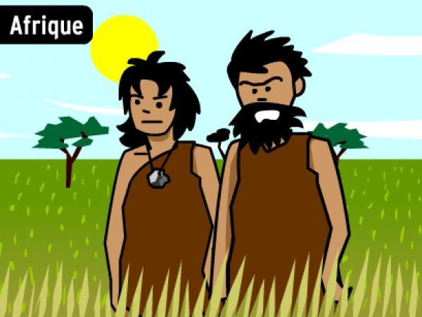 PREHISTOIRE: Les hommes préhistoriques