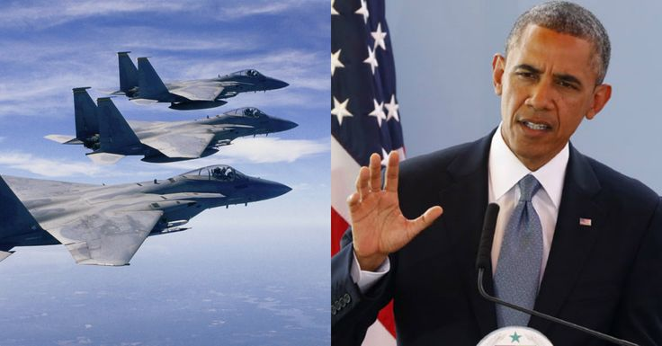 ALERT: Obama Tells America He's Fighting ISIS… But U.S. Pilots Just Came Home With STUNNING Truth  Read more: http://conservativetribune.com/obama-tells-america-isis/#ixzz3sFMH574G