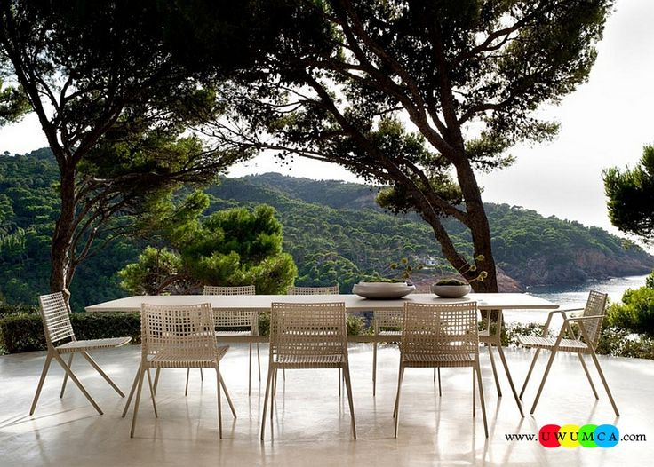 Outdoor / Gardening:Beautiful Diy Outdoor Lounge Furniture Decor Ikea Chairs Elegant Sofa Cushion Pillows Cheap Table Chaise Lounge Design Double Chaise Lounge For Living Room Decorating Home Exterior Ideas By Tribu Inspired By Nature Luxurious Decoration Collection From Paola Lenti Redefines Your Outdoor Lounge Decor