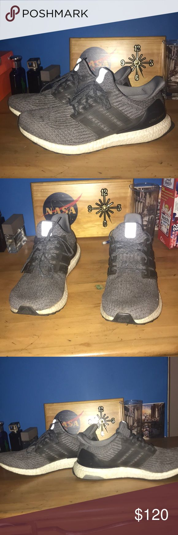 Men's adidas ultra boost size 11 Great condition, but definitely worn a little. adidas Shoes Athletic Shoes