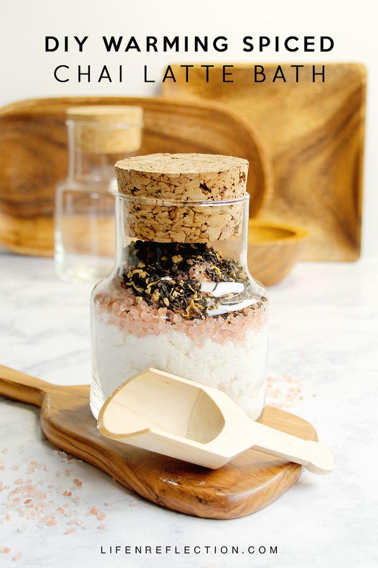 DIY Spiced Chai Latte Bath