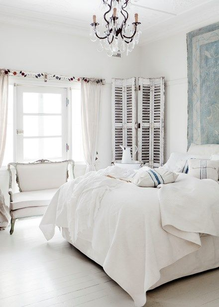 French Country Style Bedroom In The City   Home Beautiful
