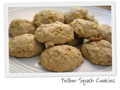 Yellow Squash Cookies