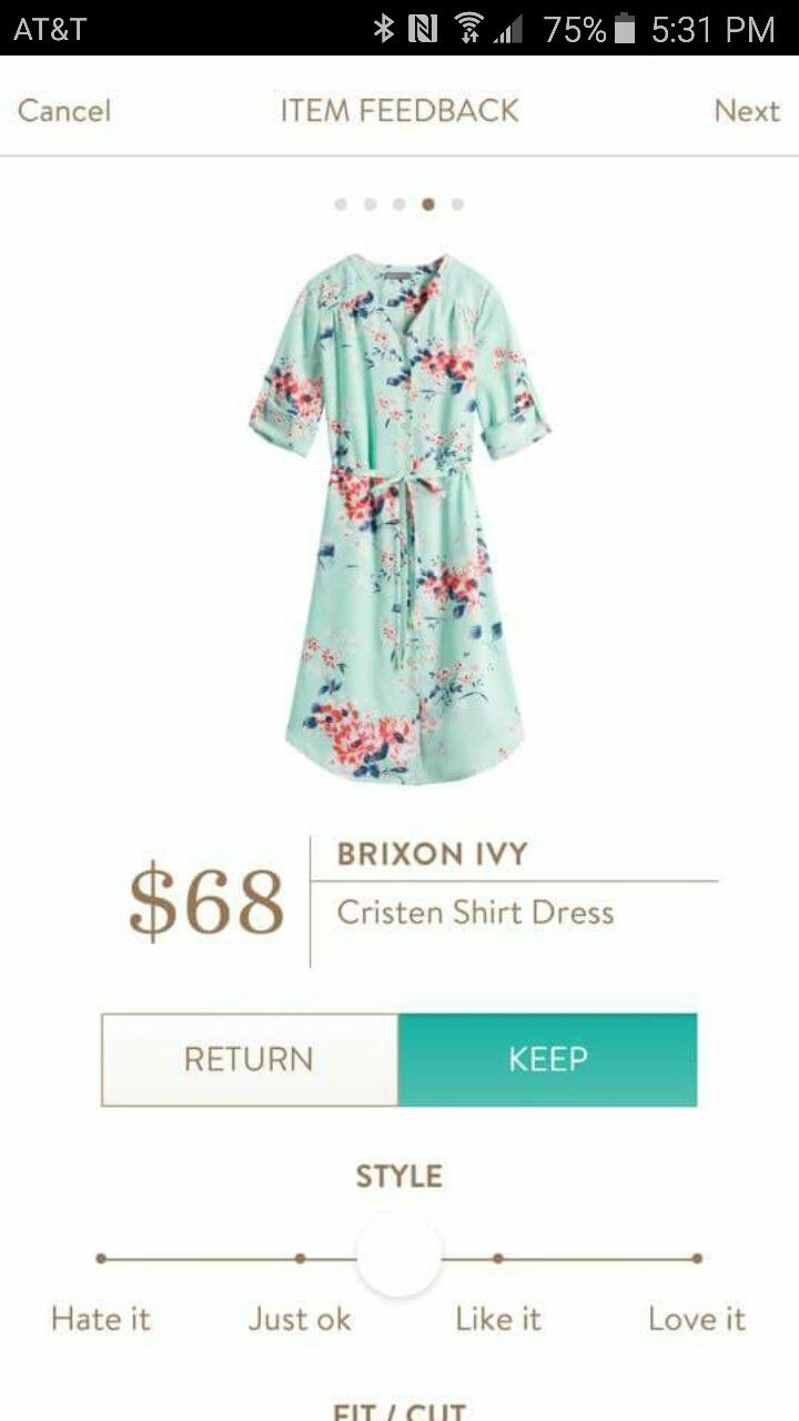 Brixon Ivy Cristen Shirt Dress: I love this pattern so much! The cinched waist would be flattering, but I'm not sure if they button front would work without pulling across the bust.