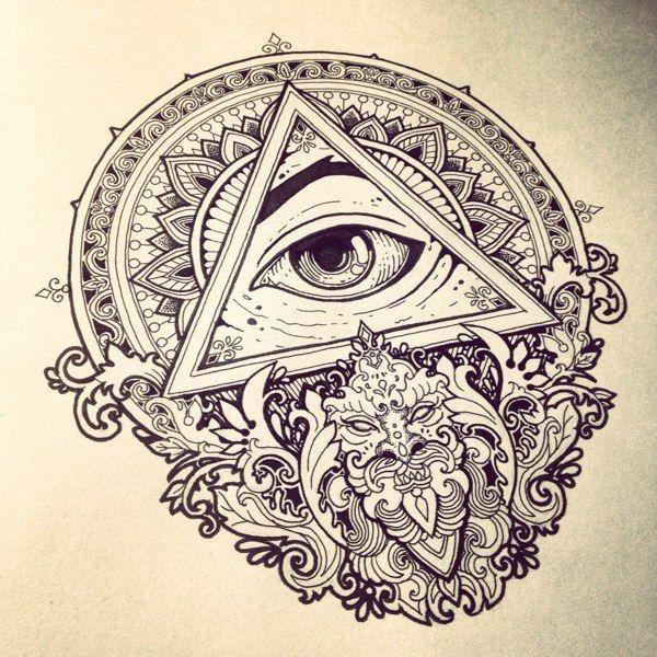 Eyes by Vika Naumova, via Behance