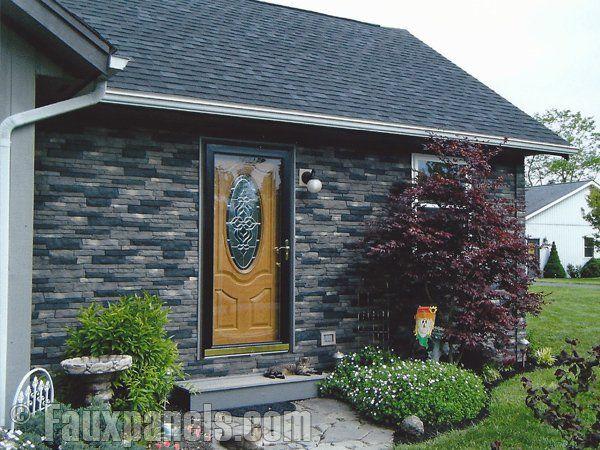 Faux Stone Siding Exterior Stone And Brick Veneer Styles Exterior Brick Veneer Stone Siding Exterior Exterior Siding Options