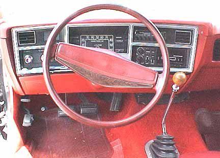 Dodge Aspen interior