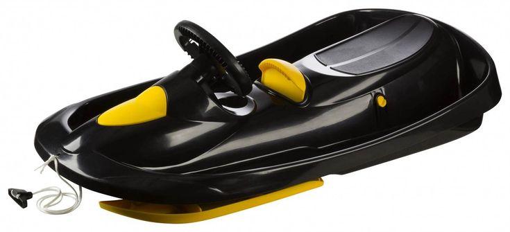 Sportolino Angebote Hamax Bob Sno Action Kunststoff Rodel (Farbe: 900 schwarz/gelb): Category: Wintersport>Schlitten &…%#sport%