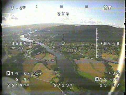 Skywalker 10km FPV flight #005