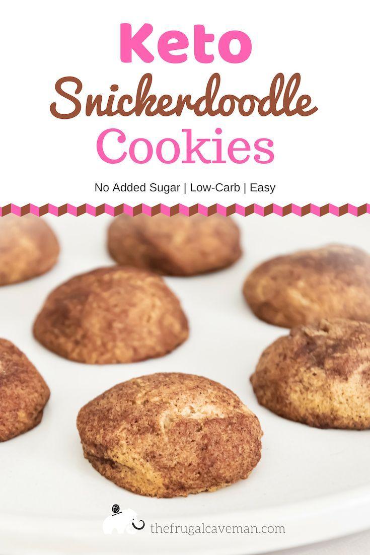 Diese Keto-Snickerdoodle-Kekse sind ein einfaches und köstliches Dessert. Sie s …