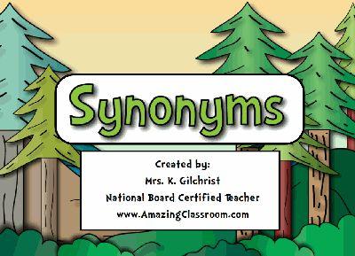 Great synonyms Promethean flipchart!