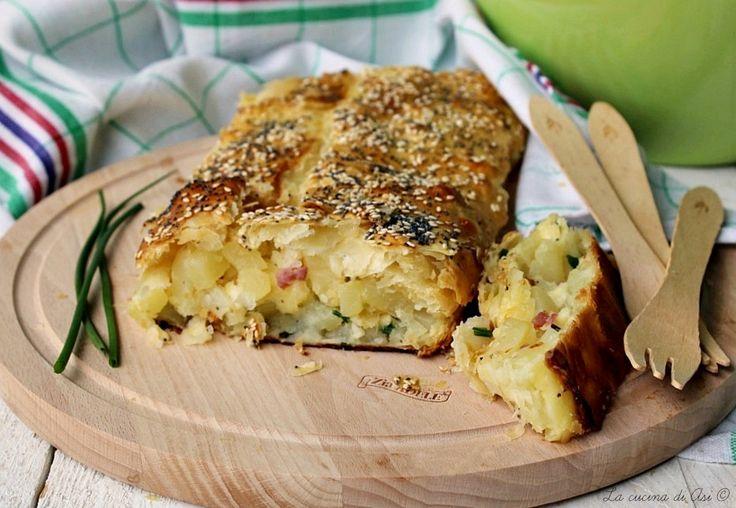 Strudel salato una ricetta appetitosa per una preparazione veloce e gustosa perfetta per pranzo e cena Ricetta strudel salato