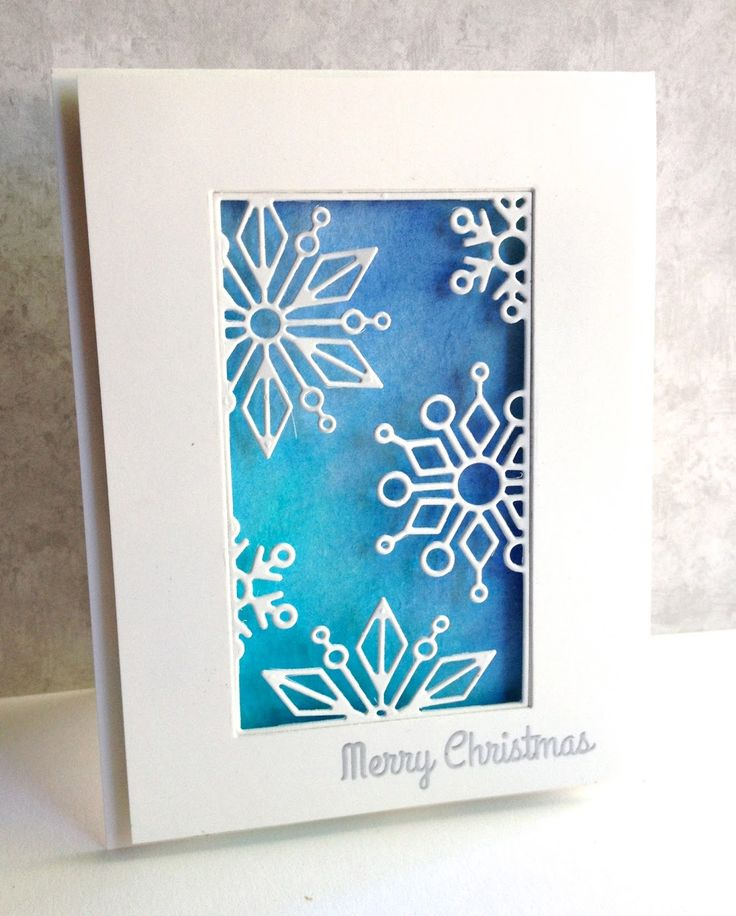 The Snowflake Block die by Simon Says Stamp is beautiful!!  I have made three cards to showcase different ways you might think to use thi...