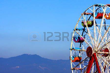 Carousel on turkish horizon