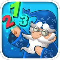 Little Wizy's Kingdom.  A great Math app!