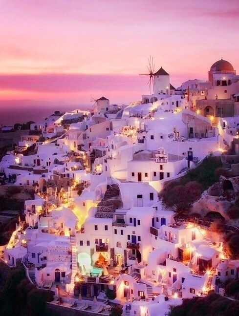 I want to go to Greece and visit some of those places that ...