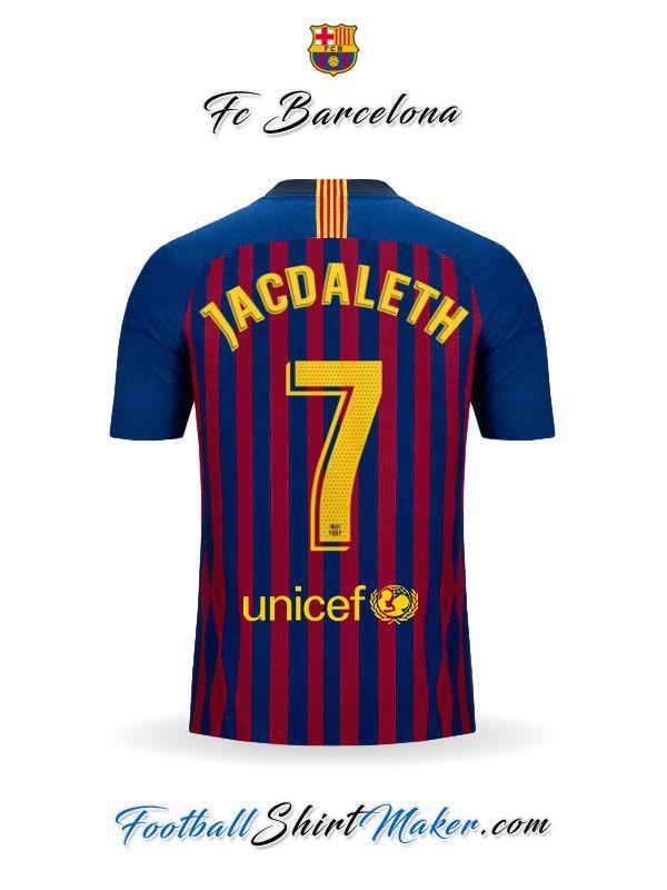 3029b3c1f Camiseta FC Barcelona 2018 19 Jacdaleth 7