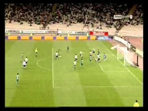 panathinaikos vs paok 1-0 gilberto silva play offs 22-5-11