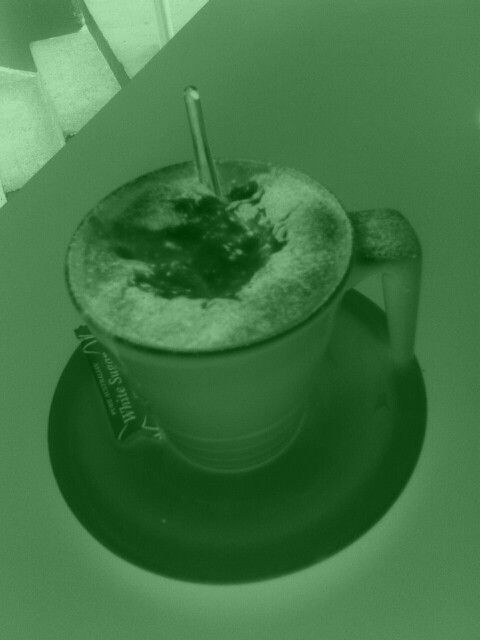 Cappacino at bistro at newcastle beach