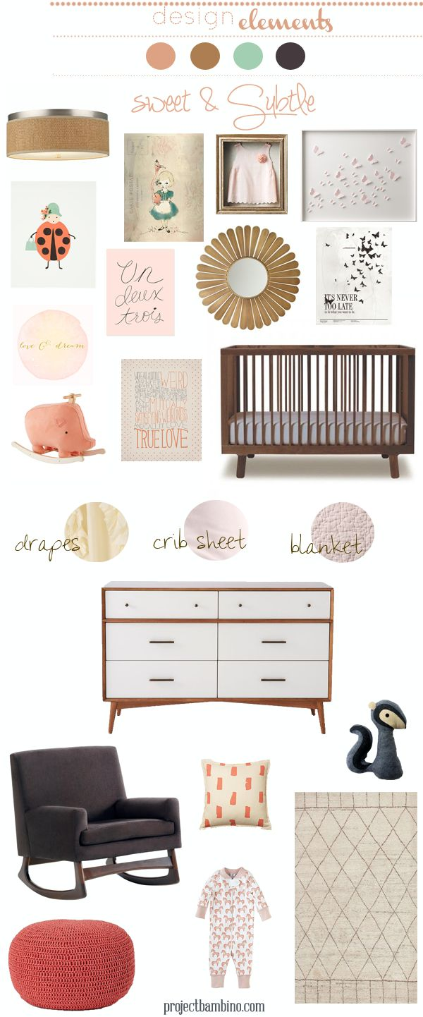 light pink #nursery
