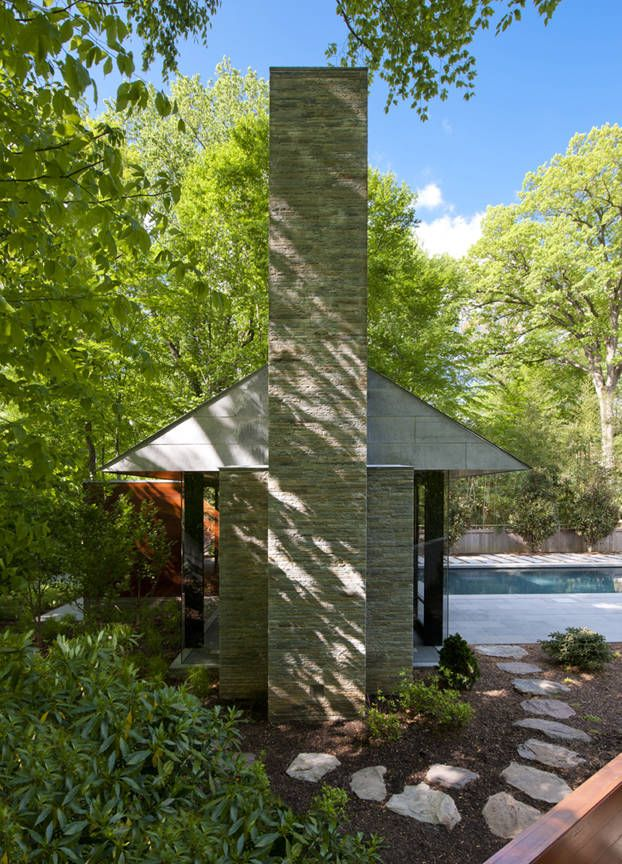 Nevis Pool and Garden Pavilion / Robert M. Gurney Architect