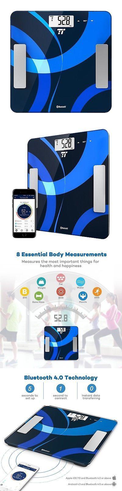 Scales: Body Fat Analyzer Taotronics Bluetooth Scale 4.0 Digital Bathroom Scale Measu... -> BUY IT NOW ONLY: $34.77 on eBay!