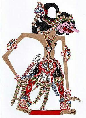 Indrajit #wayangkulit #indonesiaart