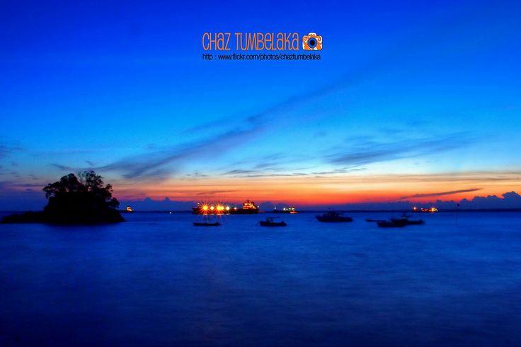 Sunset in Blue - Balikpapan